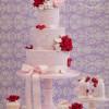 Romantic valentine Cake