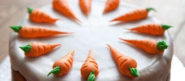 Aargauer Rüeblitorte (Swiss carrot cake)