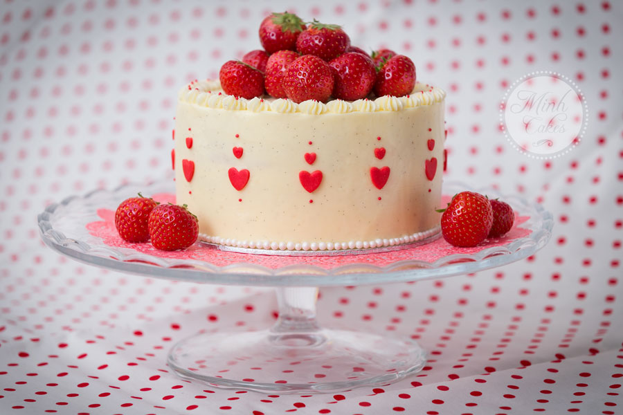 Preserving Strawberries Cake Cake With Strawberries
