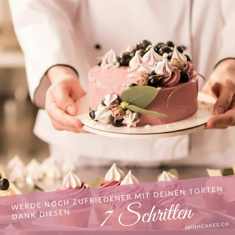 Minh Cakes Blog - 7 Schritte für deine Torte - Titelbild