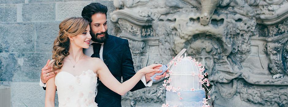 Hochzeitstorten von Minh Cakes