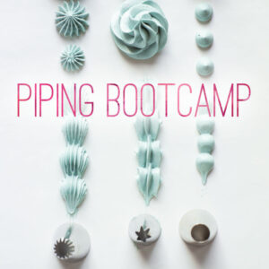 "Minh Cakes ""Piping Bootcamp"" Spritzbeutel Kurs"