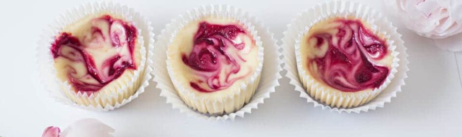 Himbeer Cheesecake Cupcakes