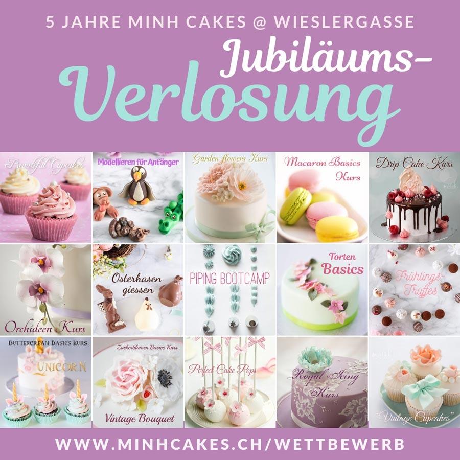Minh Cakes Wettbewerb - Gewinne einen Kurs