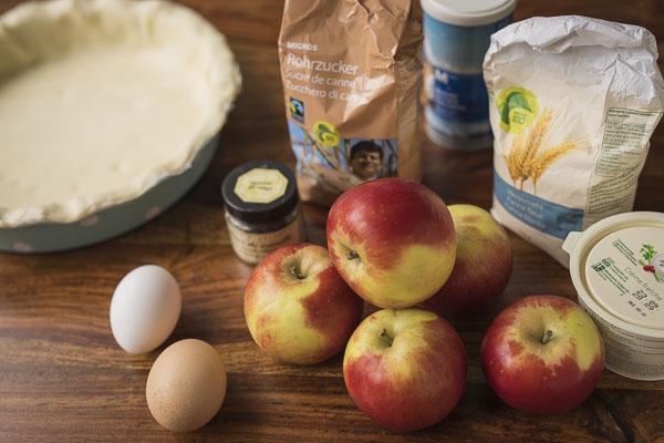 Minh Cakes Apfelkuchen Apple Pie