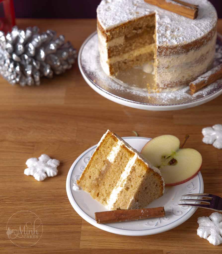 Minh Cakes Gewürz-Wunderkuchen - Anschnittbild