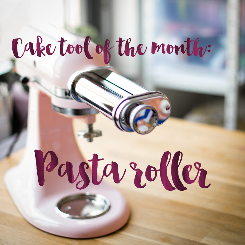 Minh Cakes - Cake tool of the month - pasta roller