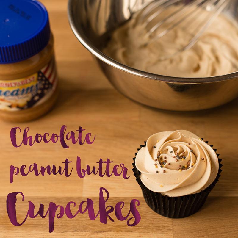 Minh Cakes Recipe Chocolate Peanut Butter Cupcakes - Schokolade Erdnussbutter Cupcakes