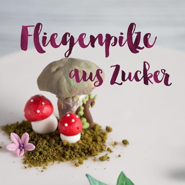 Minh Cakes Fliegenpilz Amanita Mushroom Tutorial