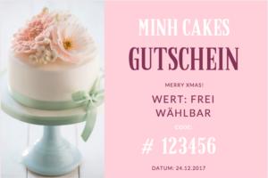 Minh Cakes Gutschein