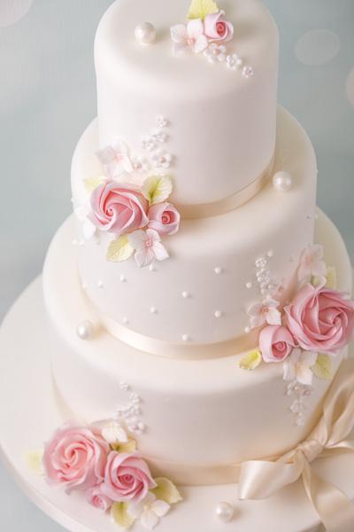 Hochzeitstorten fondant