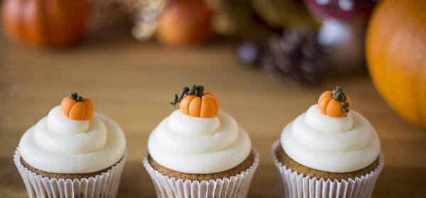 Kürbis-Cupcakes Rezept