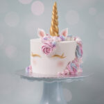 Unicorn Cake Kurs bei Minh Cakes (Buttercream Kurs mit Swiss Meringue Buttercream)