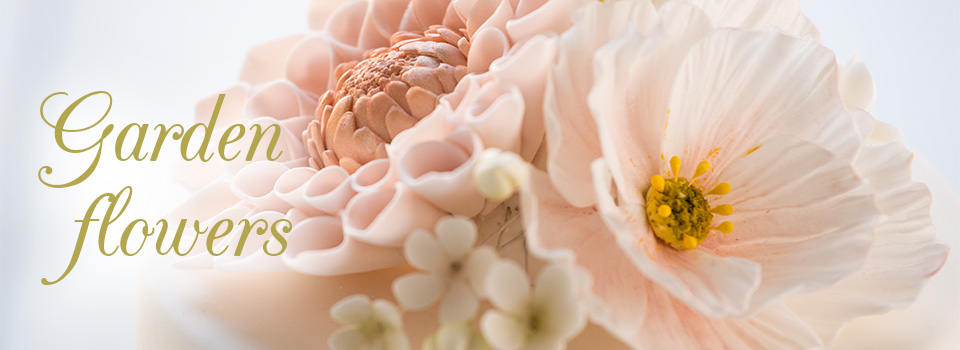 Garden flowers (Zuckerblumen fortgeschritten)