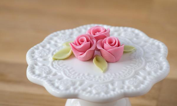 Minh Cakes Mini-Rose aus Zucker Resultat