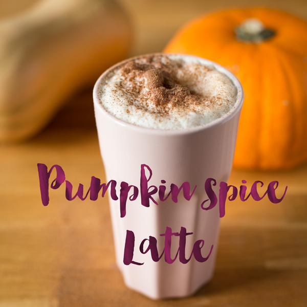Minh Cakes Pumpkin Spice Latte