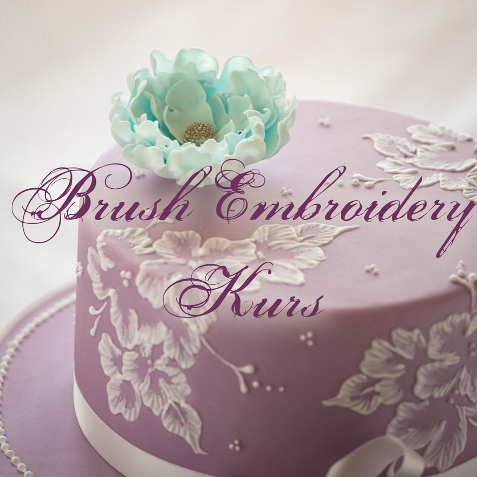 Royal Icing Brush Embroidery