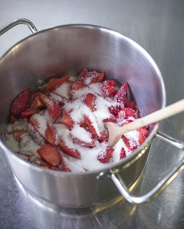 Minh Cakes Erdbeer-Püree Rezept
