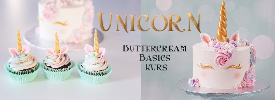 Unicorn Cake Kurs (Buttercream Basics)