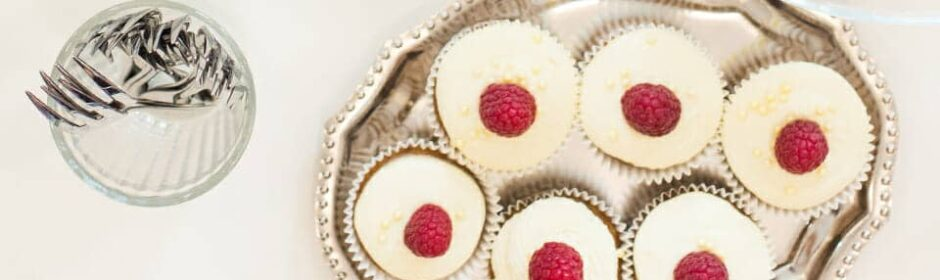 Vegane glutenfreie Bananen-Cupcakes