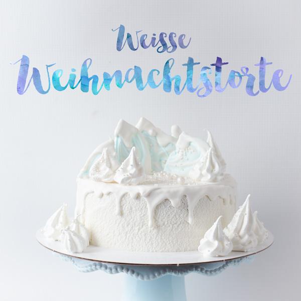 Weisser Kuchen Fur Weihnachten Minh Cakes Blog