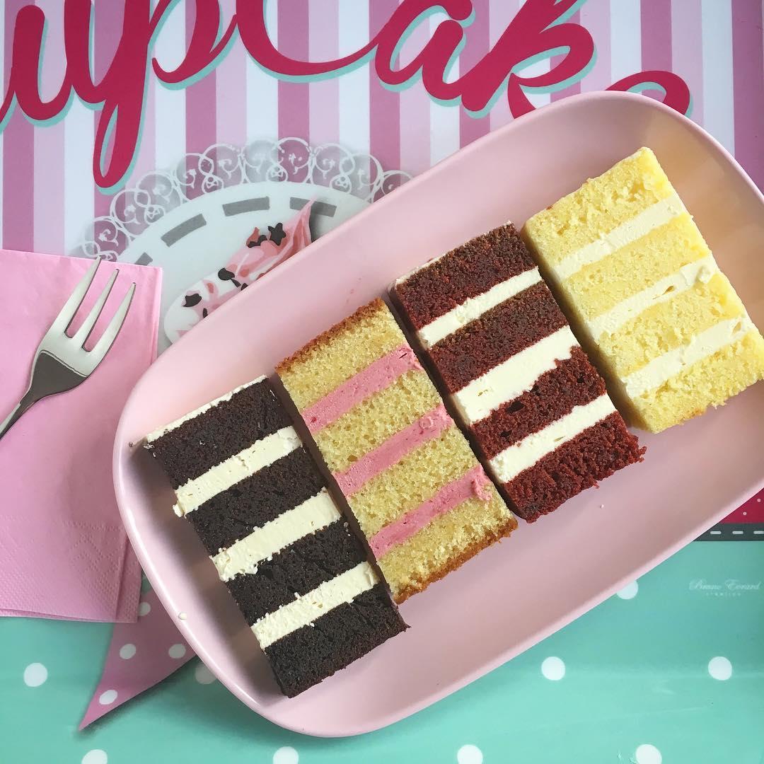 Minh Cakes wie man eine torte schneidet Tasting