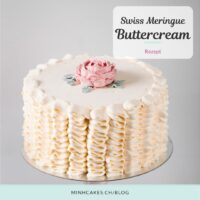 Swiss Meringue Buttercream Minh Cakes SMBC