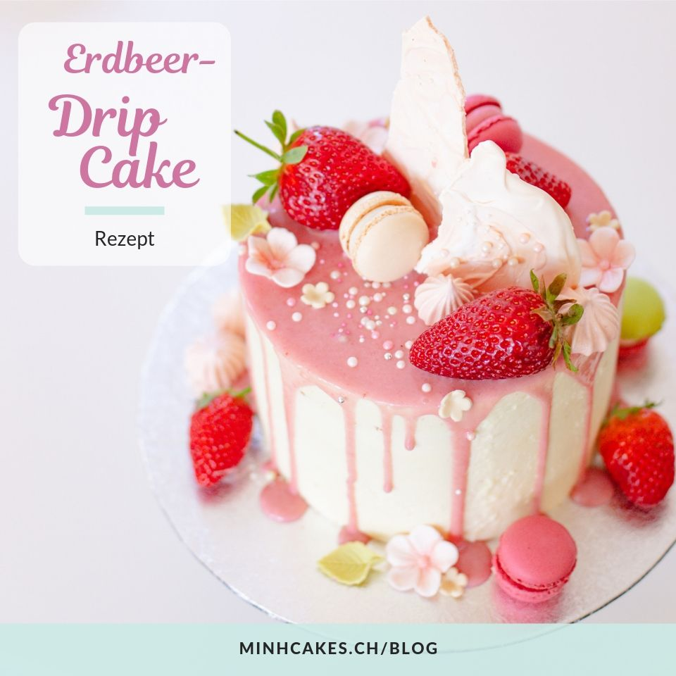 Strawberry Genoise Cake Recipe