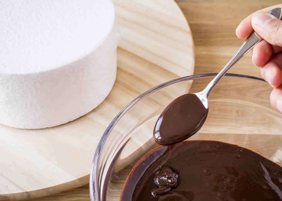 Minh Cakes Drip Ganache Rezept Schöner Glanz