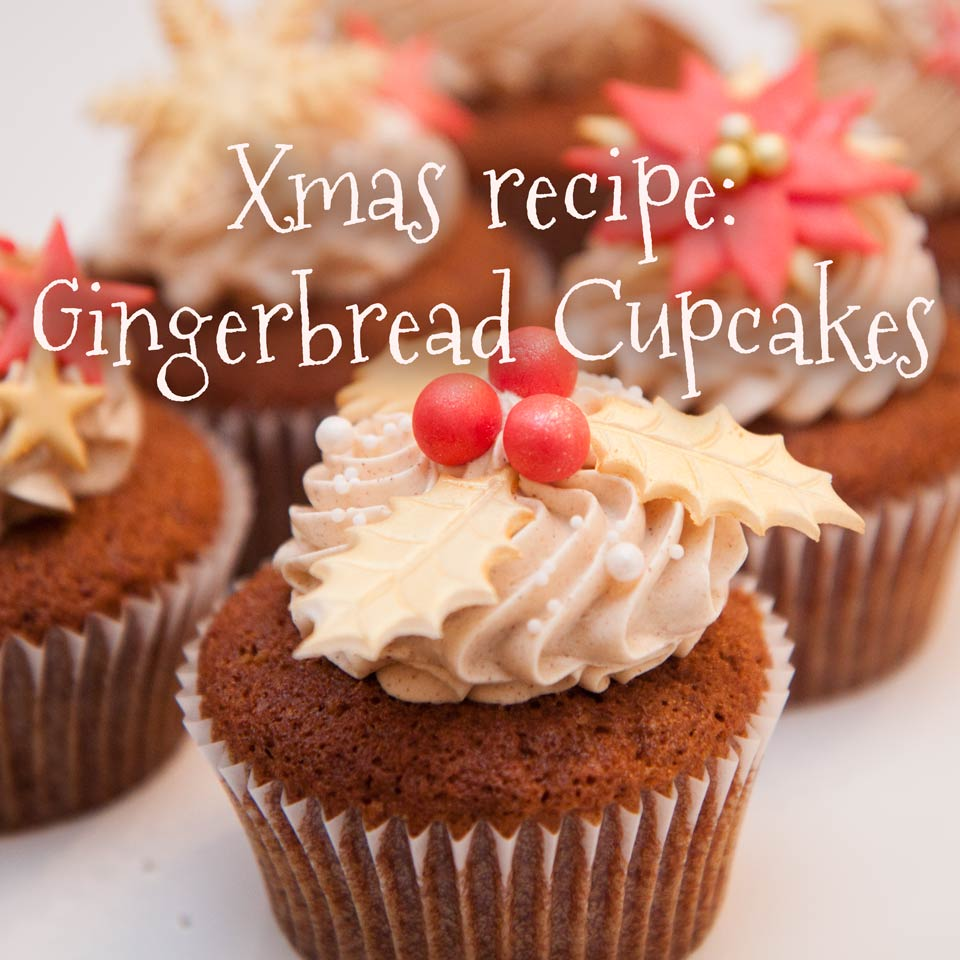 Gingerbread Cupcakes von Minh Cakes